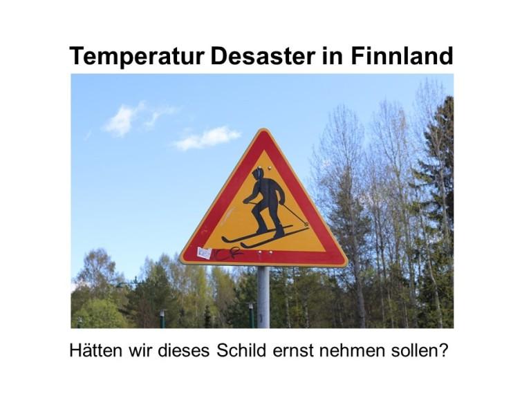Temperatur Desaster 2