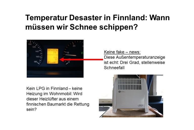 Temperatur Desaster